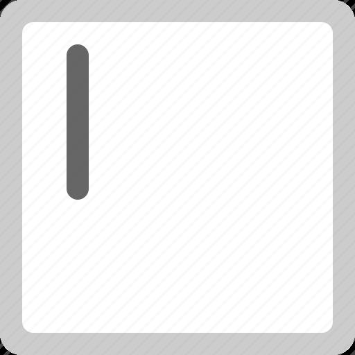 area, empty, text icon