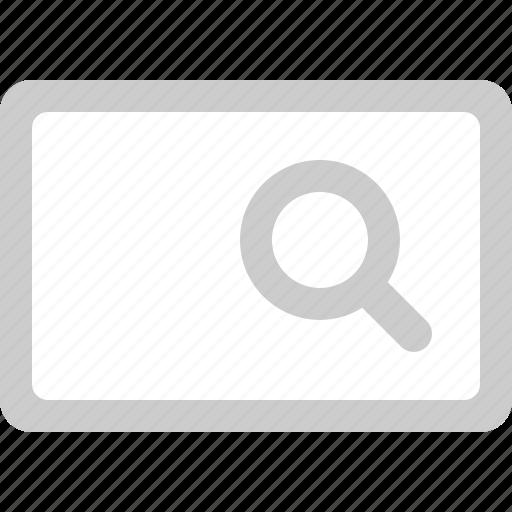 field, search, search box, text icon