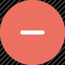 denied, do not enter, invalid, minus icon