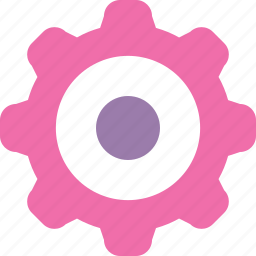 feminine settings, options, settings icon