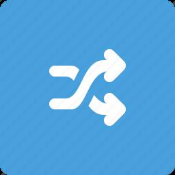 music shuffle, shuffle, switch icon