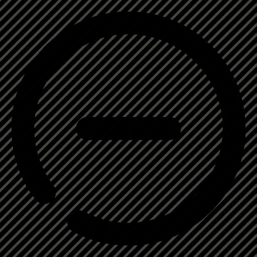 Close, delete, minus, remove, subtract icon - Download on Iconfinder
