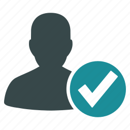 accept, approve, confirm, ok, tick, valid user, yes icon
