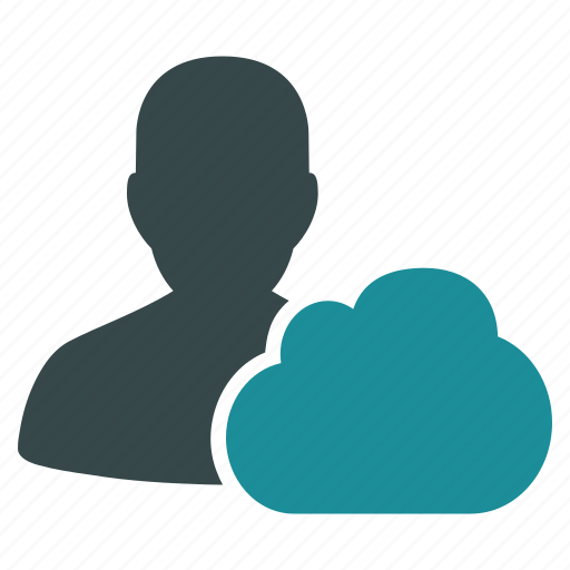 client, cloud, computing, customer, developer, online, server icon