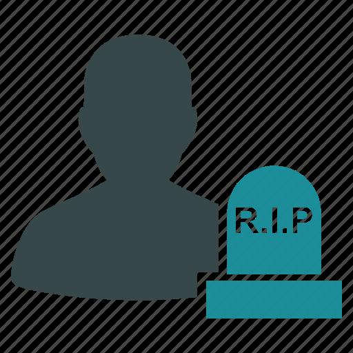 cemetery, dead, death, grave, rip, stone, tomb icon