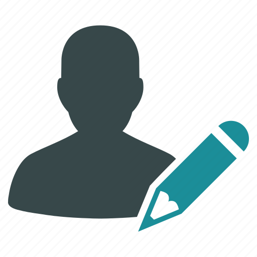blogger, correct, edit, editor, office, pencil, writer icon