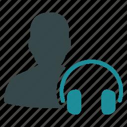 audio, headphones, hear, hearing, listen, news, sound icon