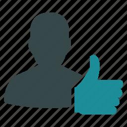 approve, finger, good, mark, ok, success, thumb icon