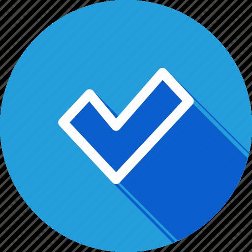 right, true, trust, verify icon