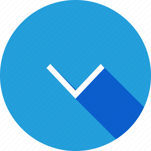 Arrow, direction, down, download, way icon - Download on Iconfinder