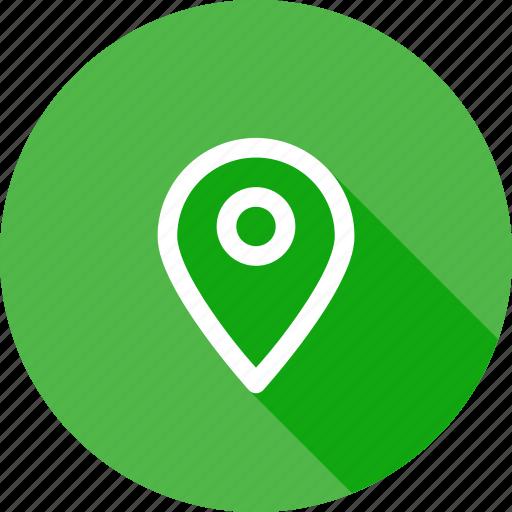 locate, location, marker, navigation, pin icon