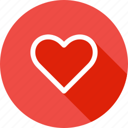 favorite, gift, heart, like, love, romance icon