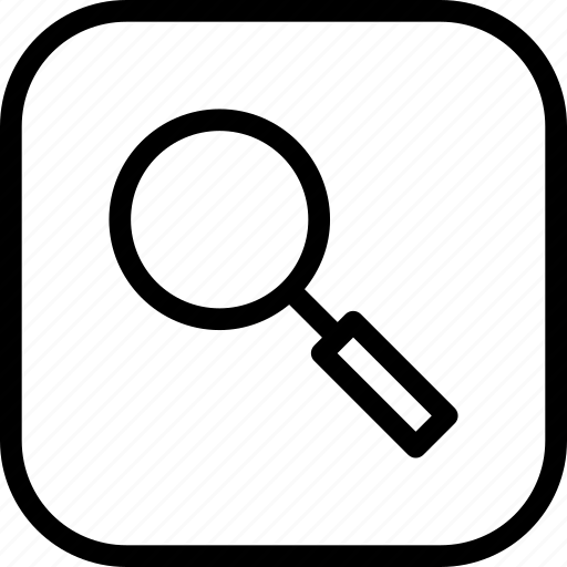 Find, glass, lens, magnifier, search, zoom icon - Download on Iconfinder