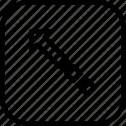 arrow, boost, fashion, increase, square, way icon