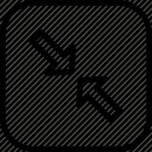 Arrow, large, maximum, resize icon - Download on Iconfinder