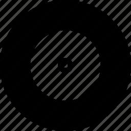 circle, design, disc, round, shape icon