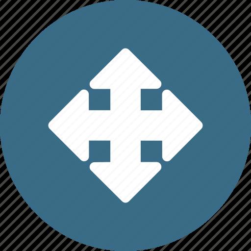 arrow, direction, mark, way icon