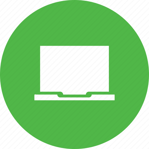 computer, device, laptop, monitor, screen icon