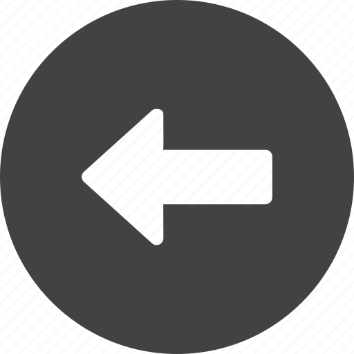 arrow, backword, direction, left, previous, way icon