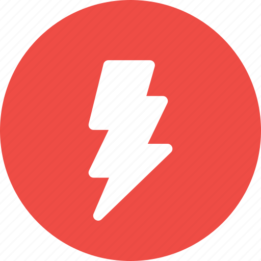 bolt, charge, electricity, energy, thunder icon