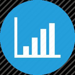 analysis, chart, column, graph, network, statics icon