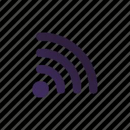 internet, network, range, signal, wifi, wireless icon