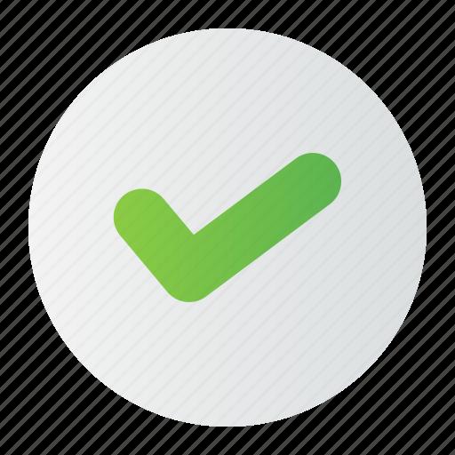 correct, right, true, trust, verify icon