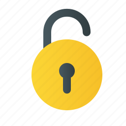 protect, theft, unlock, unsecure icon