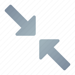 arrow, big, large, maximum, resize icon