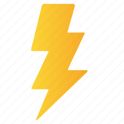 bolt, charge, electricity, energy, thunder icon