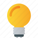 bulb, idea, innovation, light icon
