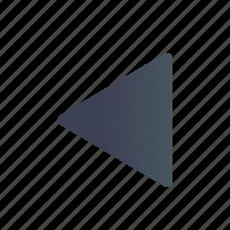 backward, next, play, replay, reverse icon