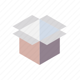 box, grid, isometric, package, parcel icon