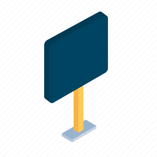 board, information, isometric, name, notice, pplate, sign icon