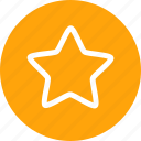 bookmark, favorite, rank, shape, star icon