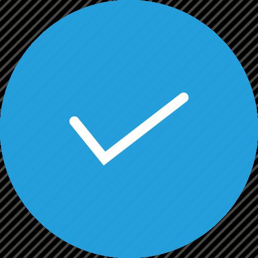 right, tick, true, trust, verify icon
