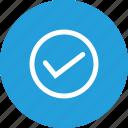 tick, verify, wright, right, trust, true icon