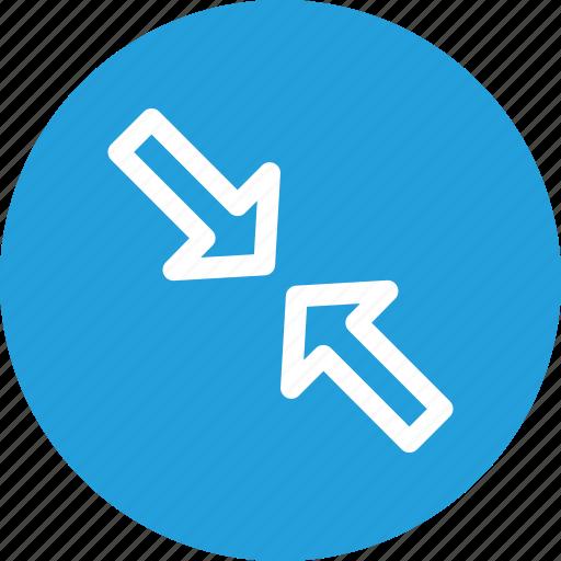 arrow, big, large, maximum, resize, ui icon