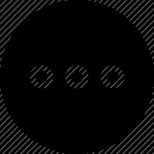 Circle, grid, menu, option, round icon - Download on Iconfinder