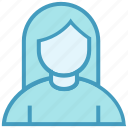 avatar, female, people, person, profile, user icon
