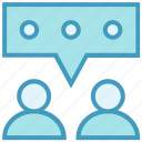 chat, male, message, support, talk, users icon
