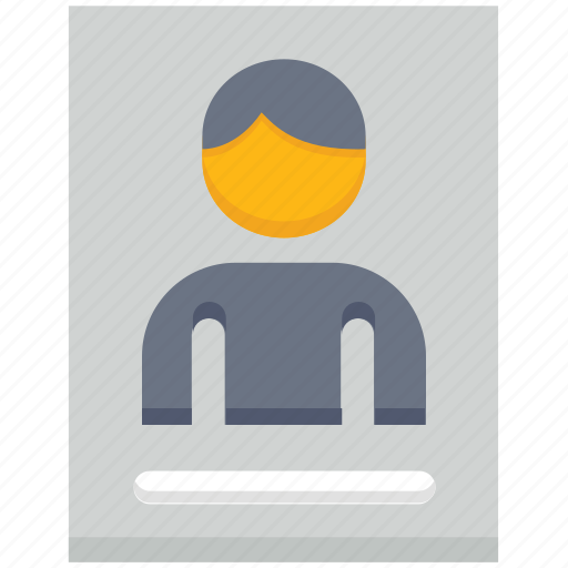 document, file, page, paper, user icon