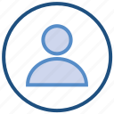 avatar, circle, male, people, person, profile, user icon