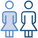 female, group, people, person, stand, team, users icon