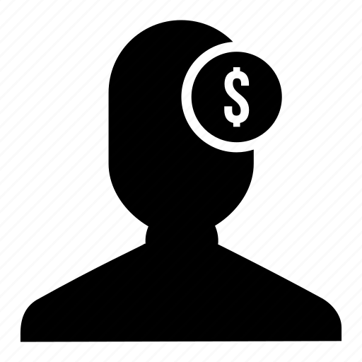 bussinessman, currency, dollar, finance, money, user icon