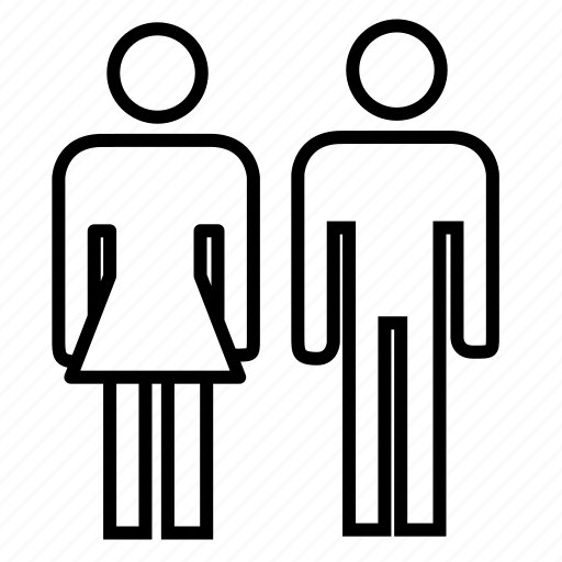 avatar, group, man and woman, people, user, user profile, users icon