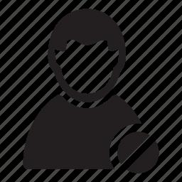 block, delete, man, prohibit, users icon