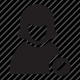 change, edit, pen, users, woman icon