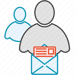 friends, group, message, network, users icon