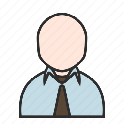 business, job, marketing, office, tie, user, work icon